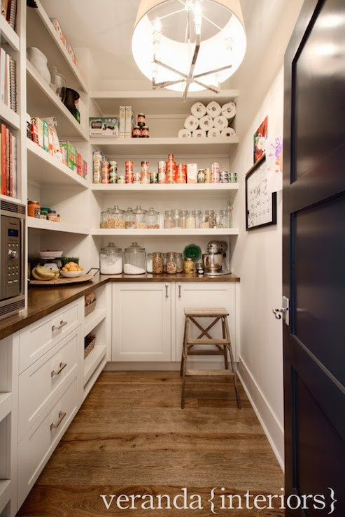 Best ideas about Walk In Pantry Ideas . Save or Pin Pantry Microwave Transitional kitchen Veranda Interiors Now.