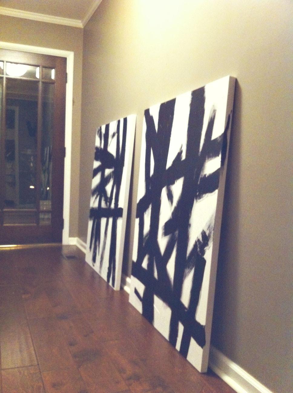 Best ideas about Wall Art Cheap . Save or Pin DIY Cheap Wall Art Now.
