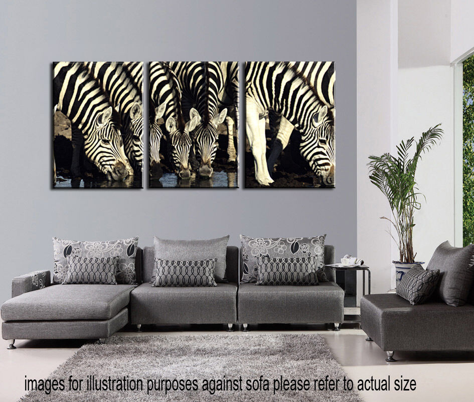 Best ideas about Wall Art Cheap . Save or Pin NOT FRAMED Canvas Print Animal Zebra Home Decor Modern Now.
