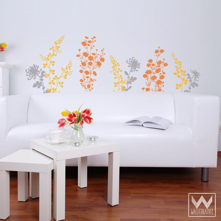Best ideas about Wall Art Decals . Save or Pin Just Floral You Flower Nature Garden Vinyl Wall Decal For Now.