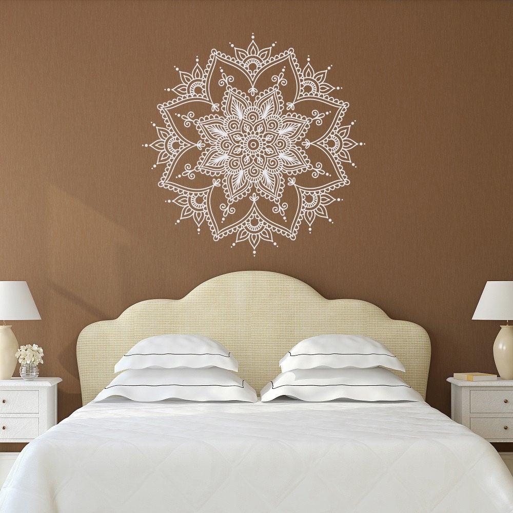 Best ideas about Wall Art Decals . Save or Pin Mandala Wall Decal Mandala Decal Yoga Studio Decor Bohemian Now.