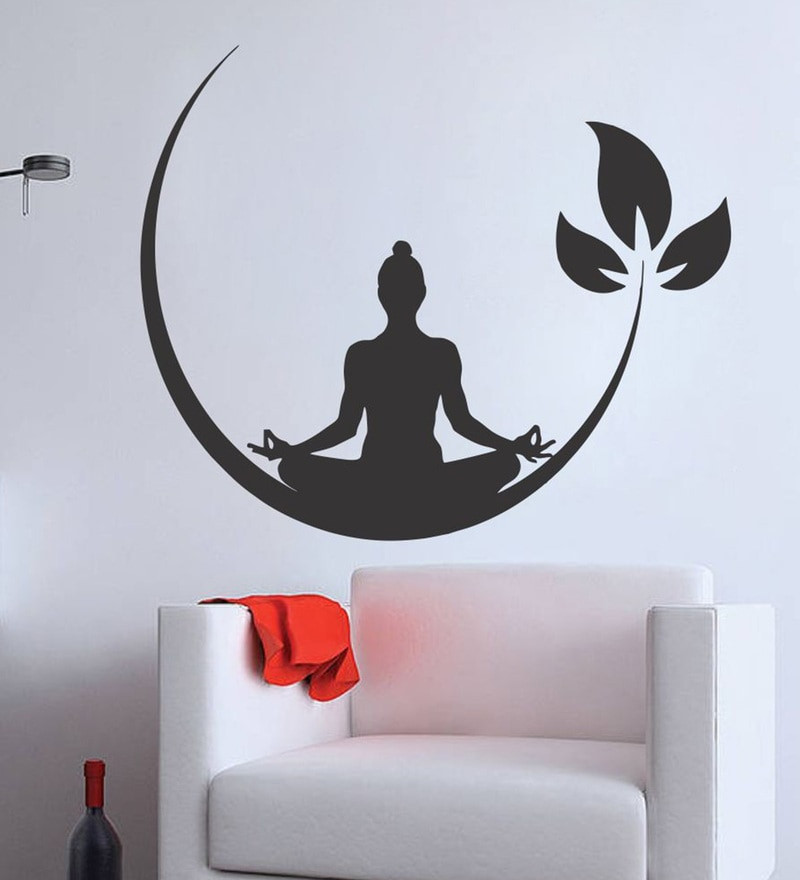 Best ideas about Wall Art Decals . Save or Pin Buy PVC Vinyl Meditation Buddha Wall Sticker by Wall Now.
