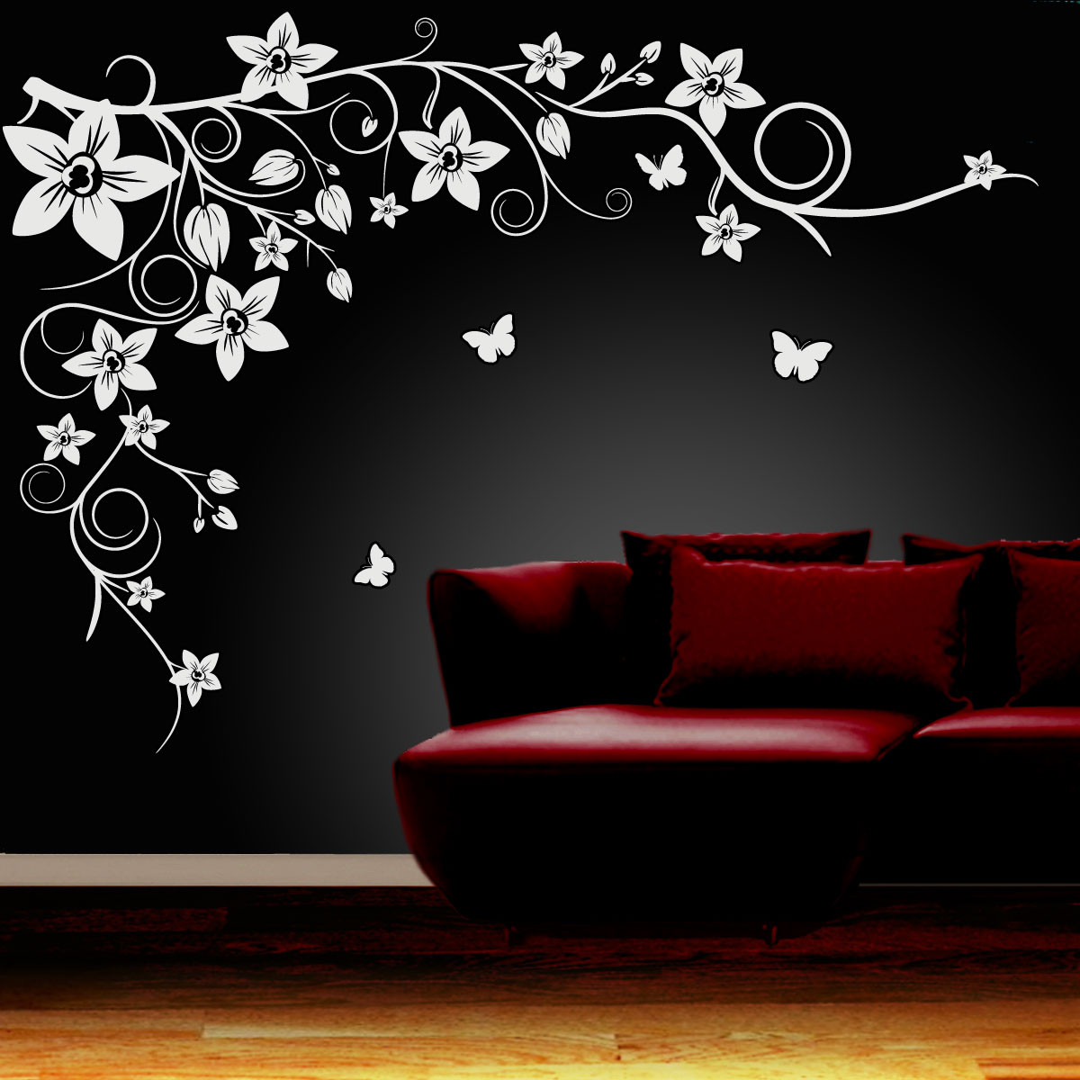 Best ideas about Wall Art Decals . Save or Pin Wall Art Decals for Wall Design of Modern Urban Apartment Now.