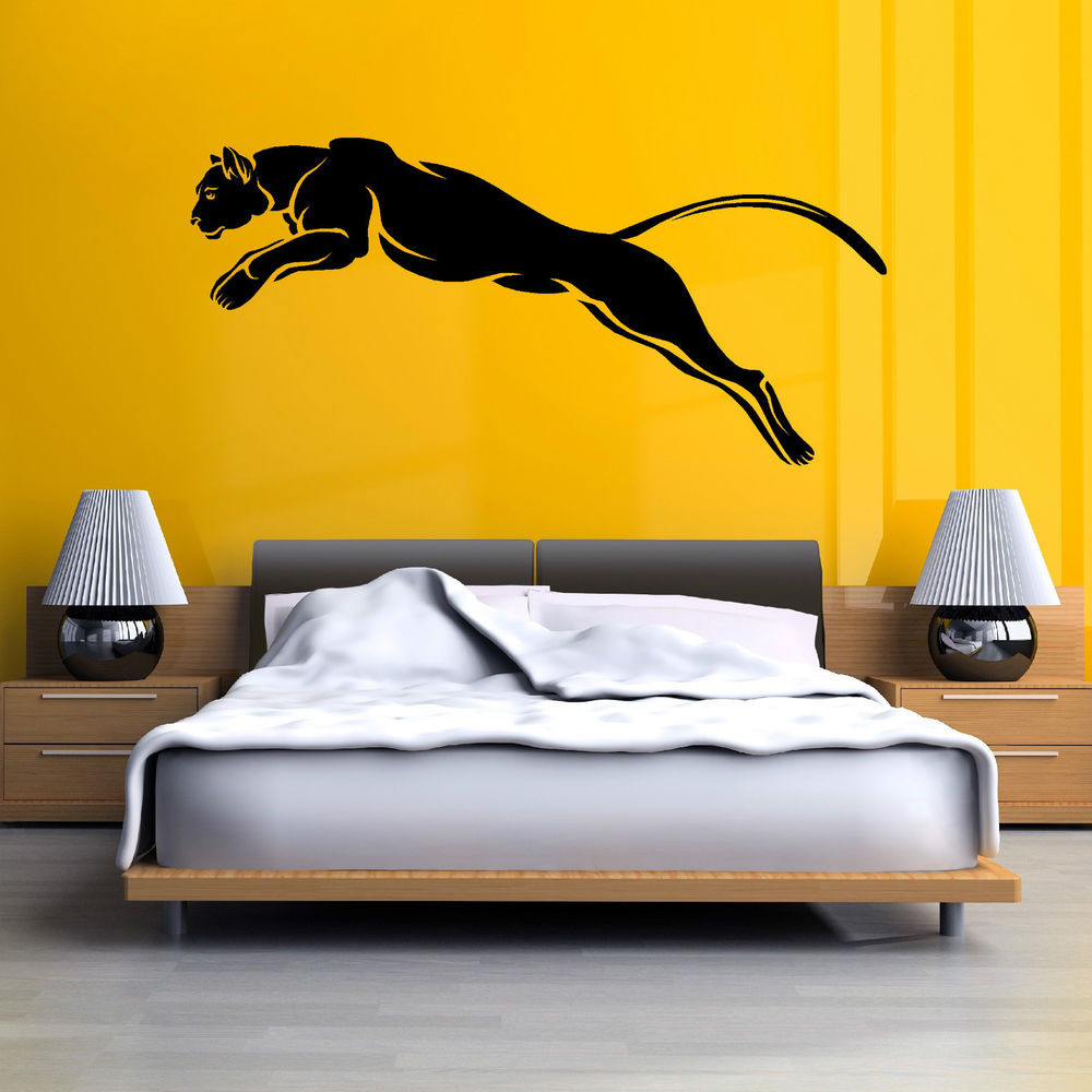 Best ideas about Wall Art Decals . Save or Pin BLACK PANTHER PUMA JAGUAR cat wild animal Vinyl wall art Now.