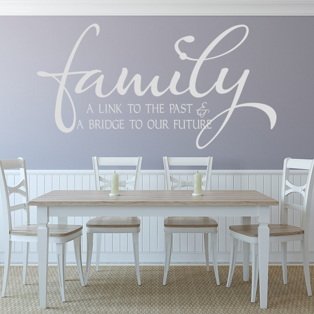 Best ideas about Wall Art Decals . Save or Pin Family A Link To The Past & A Bridge To Our Future Wall Now.