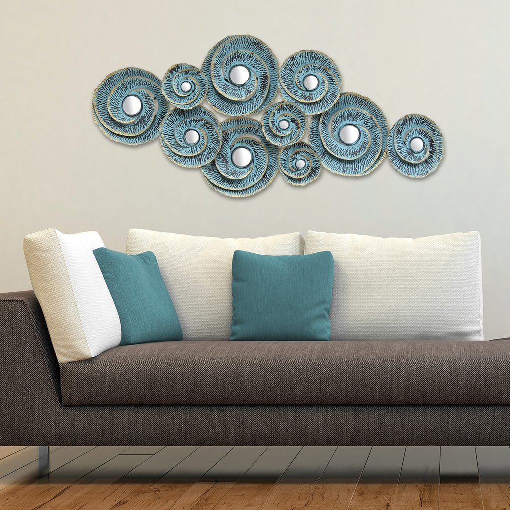 Best ideas about Wall Art Decor . Save or Pin Decorative Waves Metal Wall Décor – Stratton Home Decor Now.
