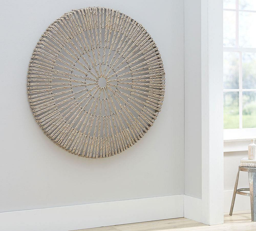 Best ideas about Wall Art Decor . Save or Pin Woven Wheel Wall Art Now.