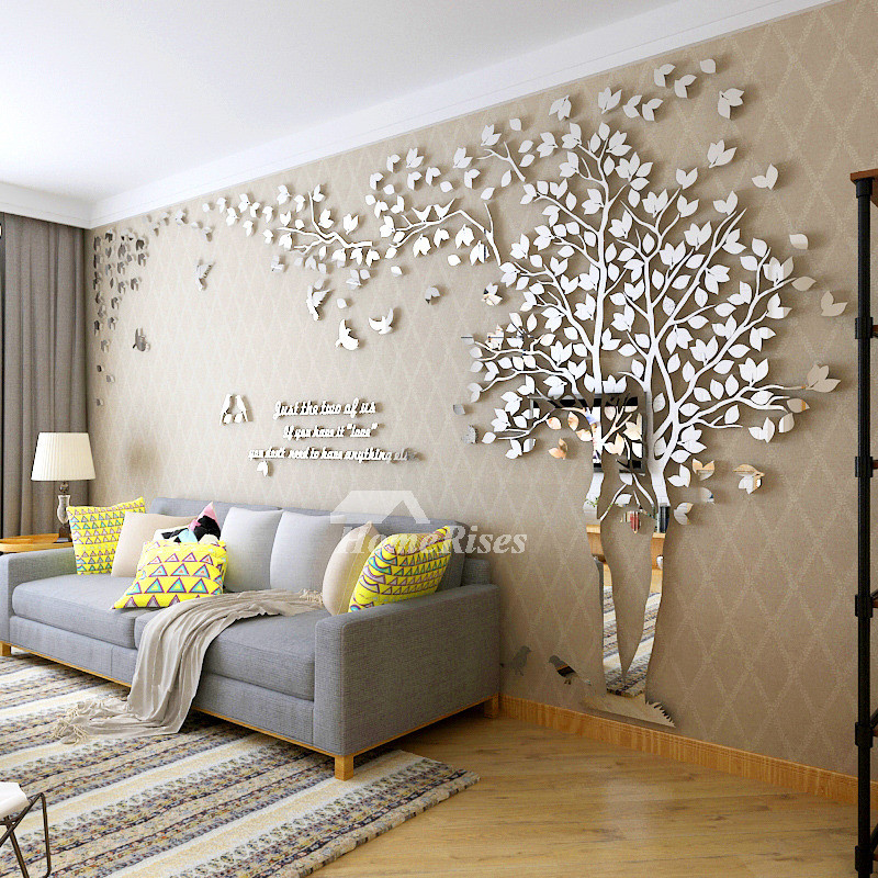 Best ideas about Wall Art Decor . Save or Pin Wall Decals For Living Room Tree Acrylic Home Personalised Now.