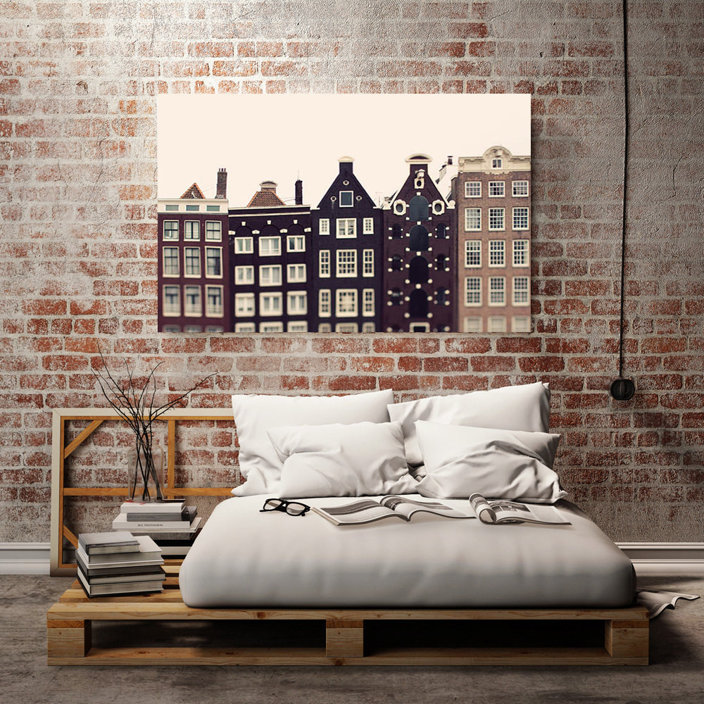 Best ideas about Wall Art Decor . Save or Pin Amsterdam Canvas Art Urban Wall Decor Canvas Print Now.
