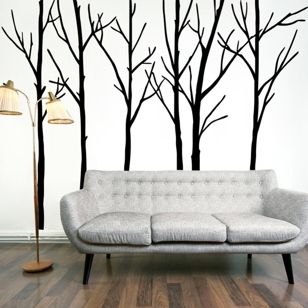 Best ideas about Wall Art Decor . Save or Pin Extra Black Tree Branches Wall Art Mural Decor Now.