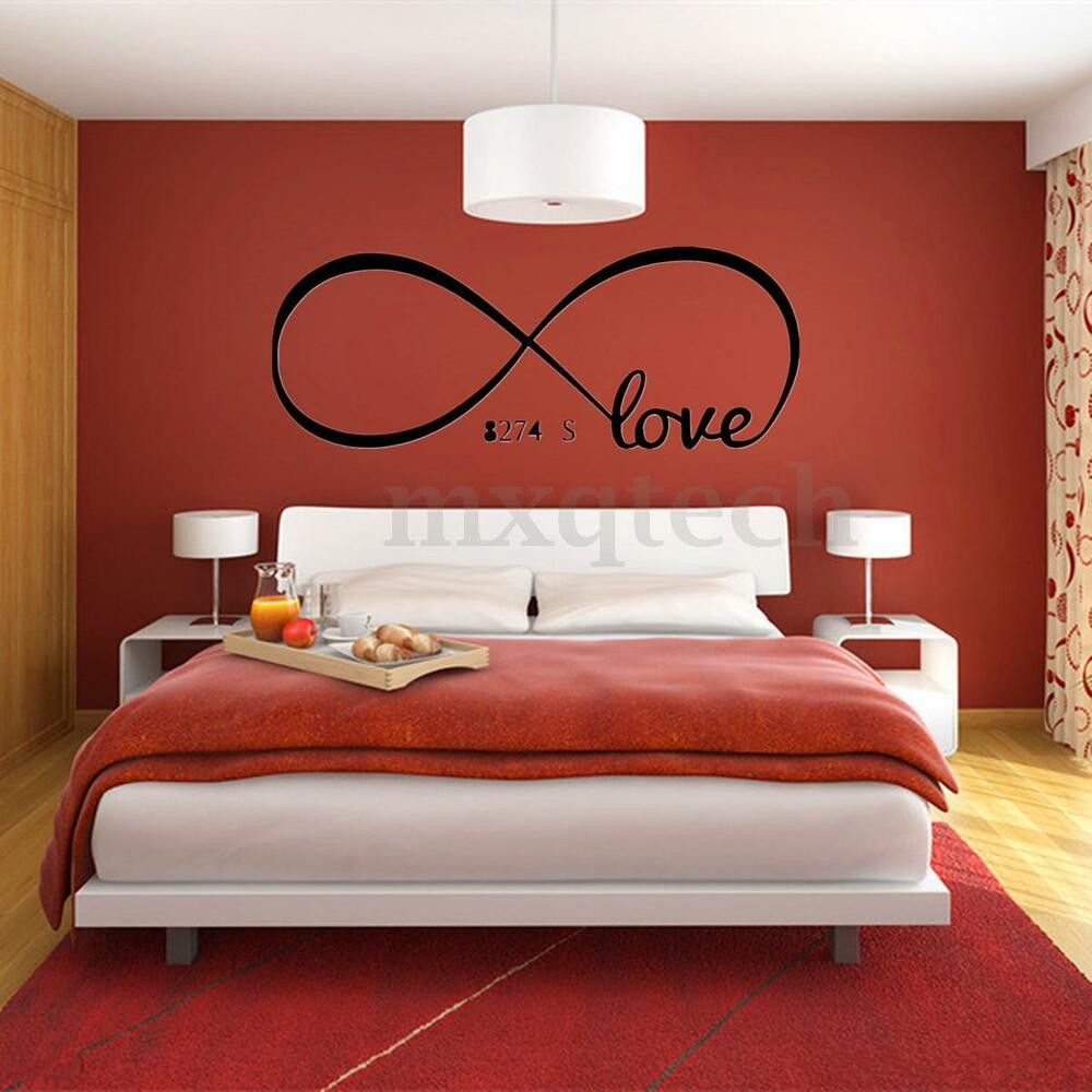 Best ideas about Wall Art For Bedroom . Save or Pin Cool Love Removable Wall Stickers Art Vinyl Quote Decal Now.