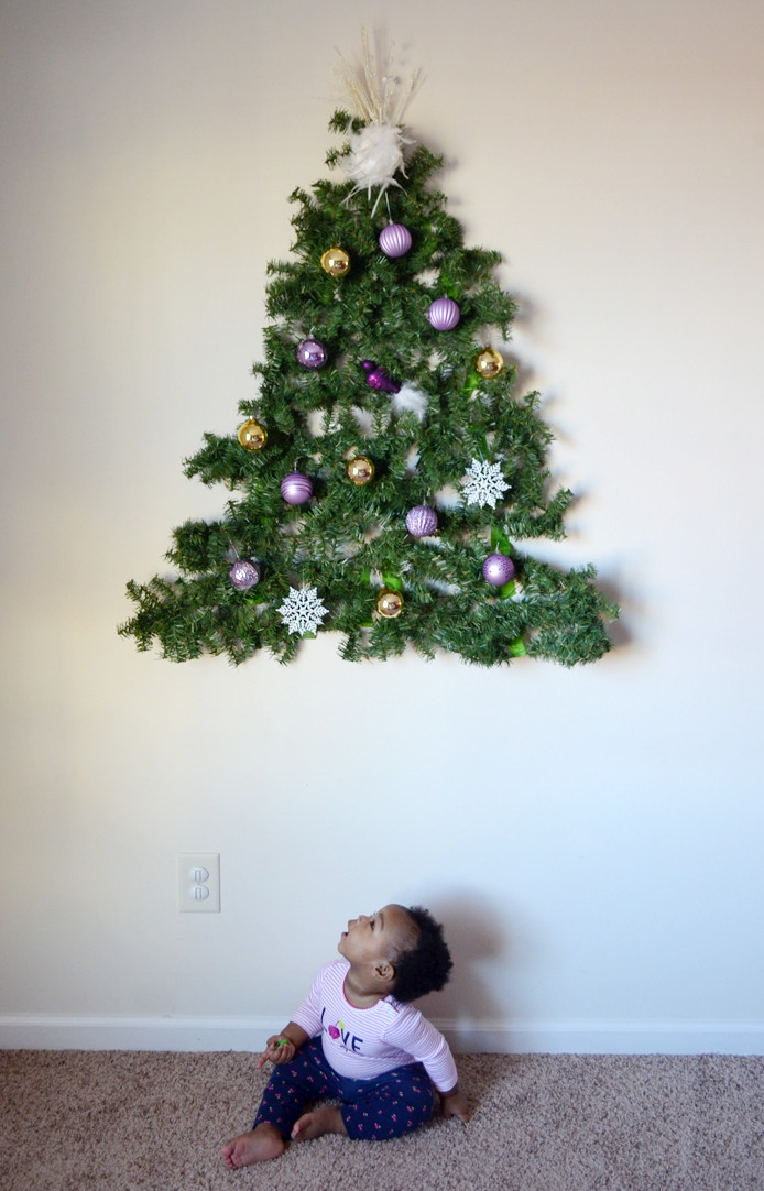 Best ideas about Wall Christmas Tree DIY . Save or Pin Have a Baby Put a DIY Christmas Tree on the Wall Now.