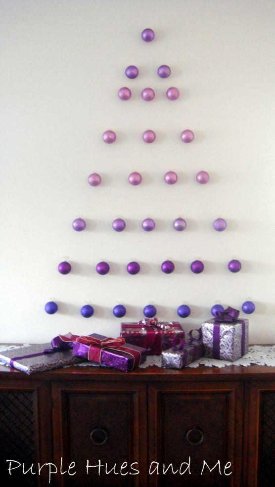 Best ideas about Wall Christmas Tree DIY . Save or Pin 10 DIY Wall Christmas Tree Ideas – Tip Junkie Now.