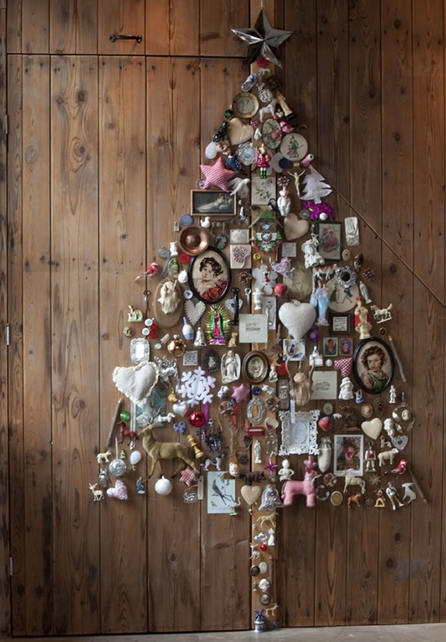 Best ideas about Wall Christmas Tree DIY . Save or Pin 100 DIY XMas Trees EN Now.