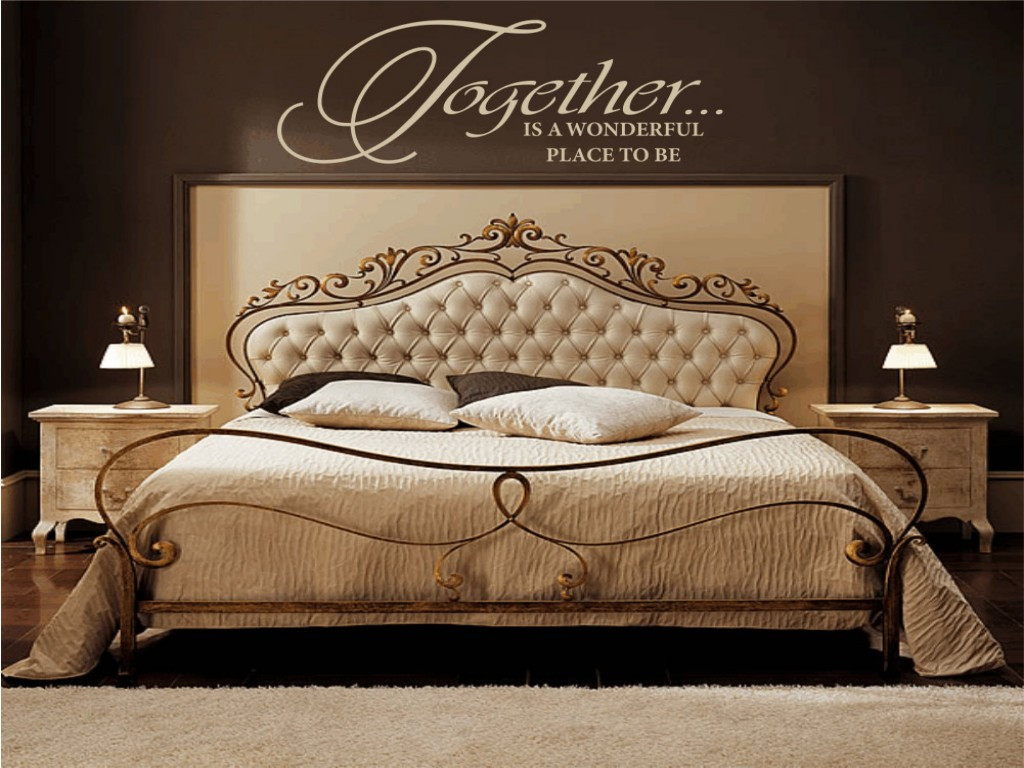 Best ideas about Wall Decals For Bedroom . Save or Pin Sweet And Romantic Bedroom Wall Decals Now.