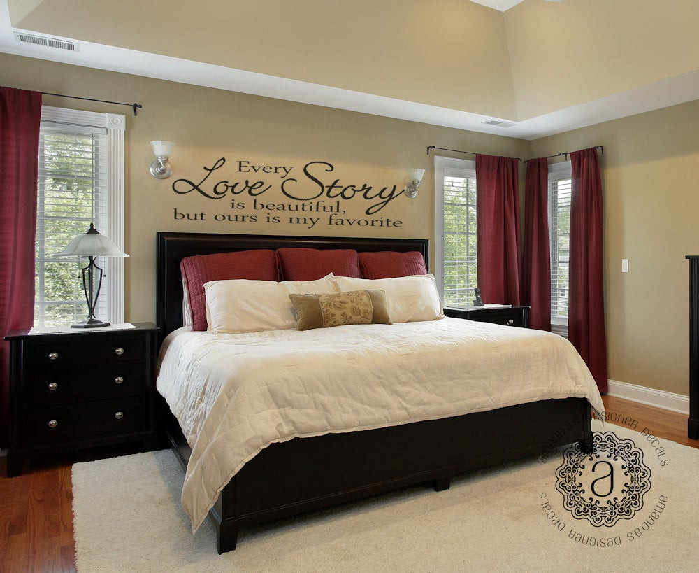 Best ideas about Wall Decals For Bedroom . Save or Pin Bedroom Decor Bedroom Wall Decal Master Bedroom Wall Decal Now.