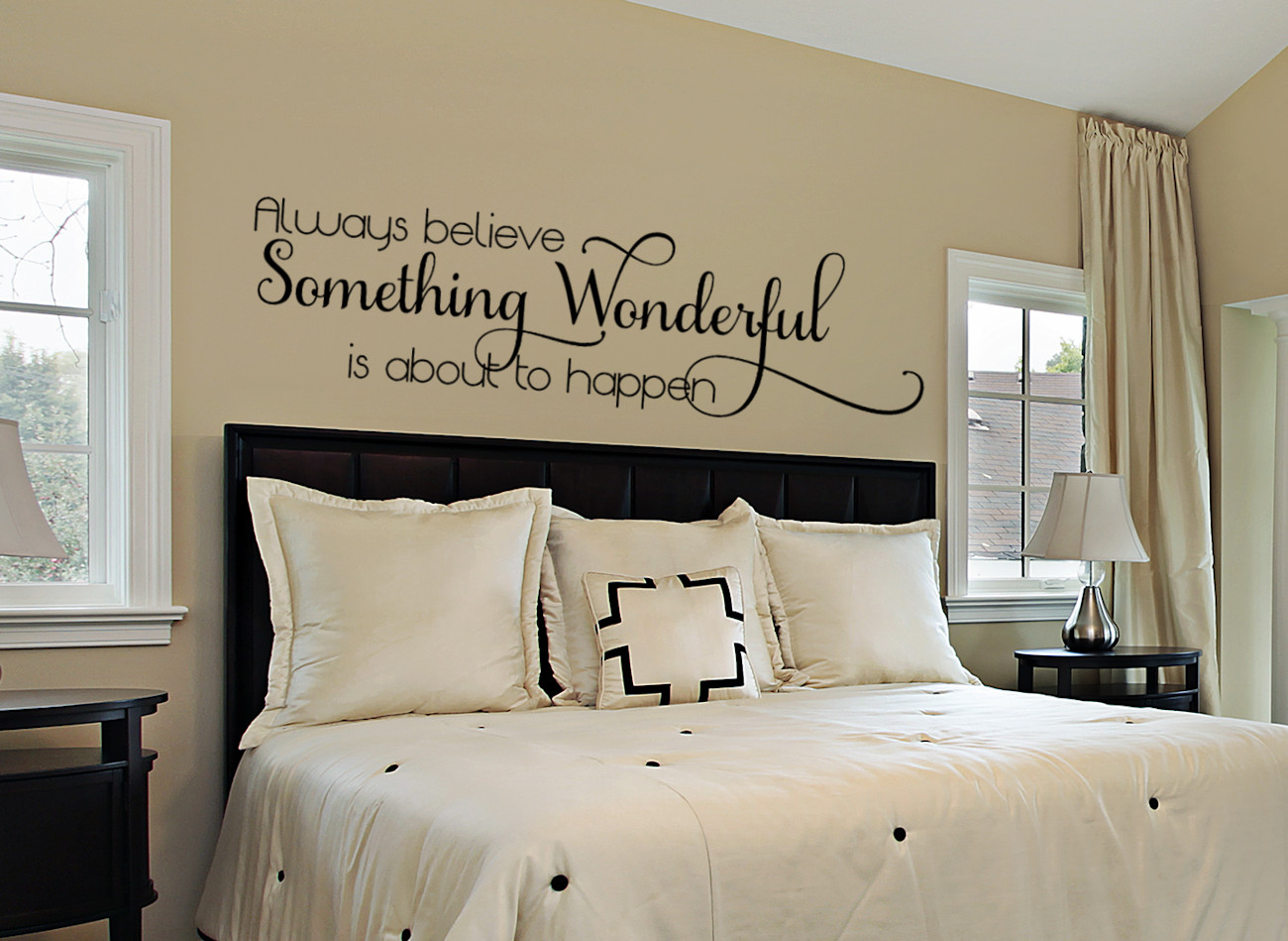 Best ideas about Wall Decals For Bedroom . Save or Pin Inspirational Wall Decal Bedroom Wall Decal Bedroom Now.
