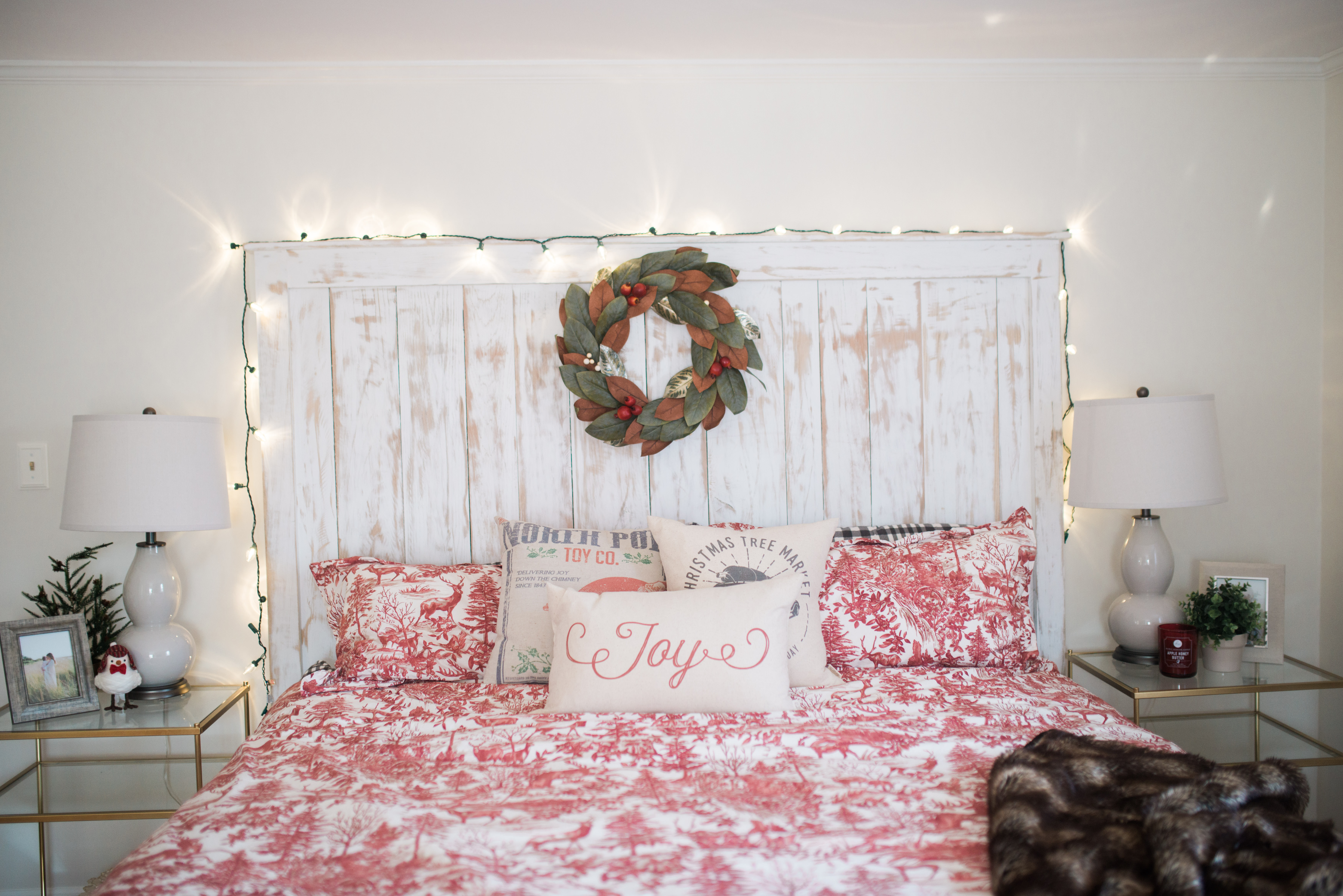 Best ideas about Wall Decor For Bedroom . Save or Pin Our Bedroom holiday decor Bedroom Wall Decorations Now.