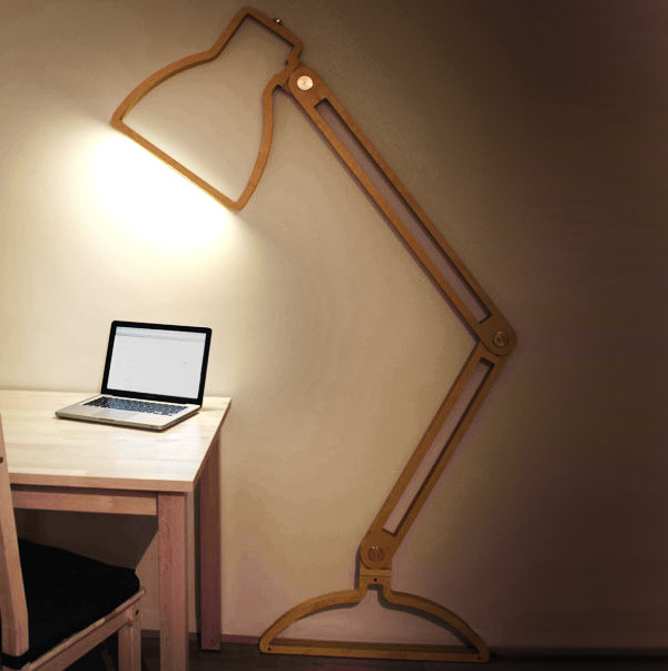 Best ideas about Wall Mounted Desk Lamp . Save or Pin Home ficeDecoration Now.