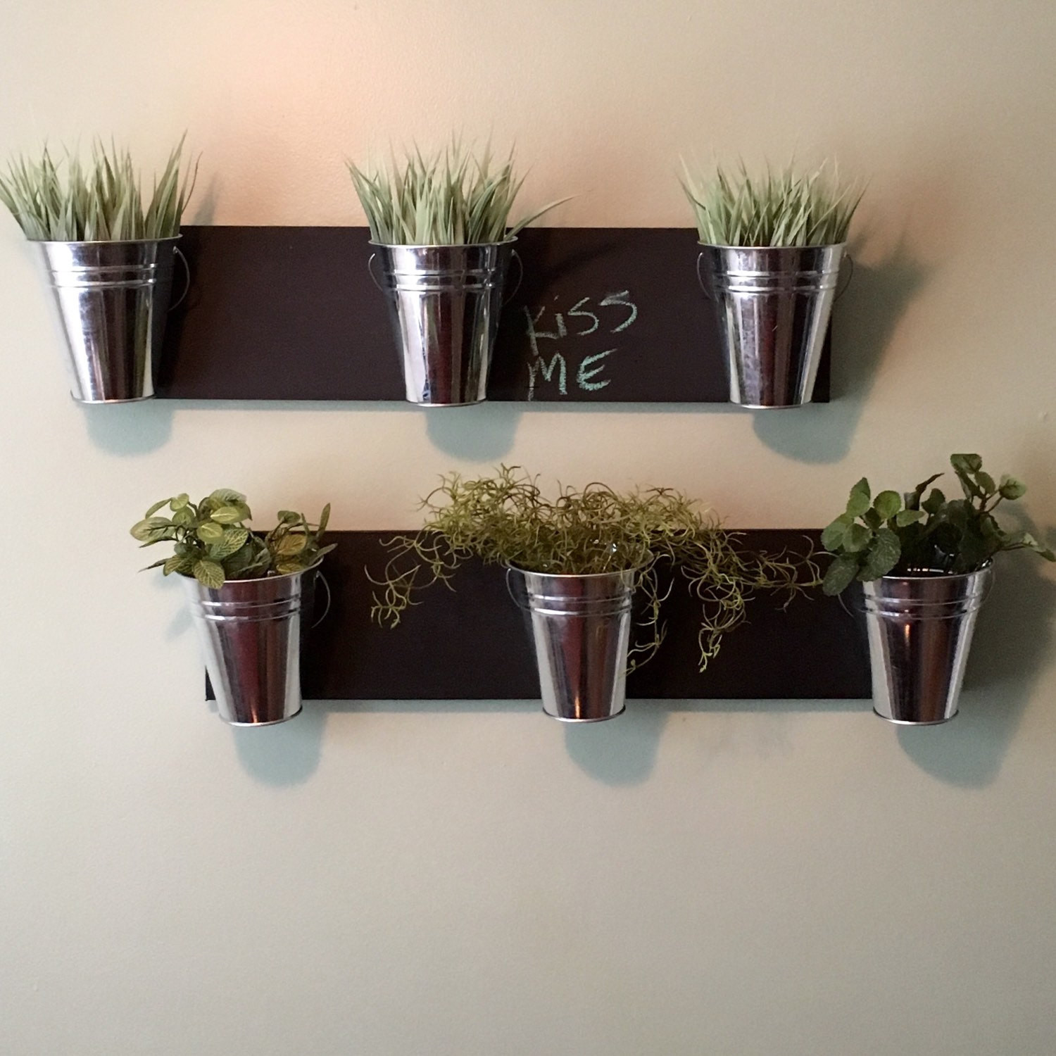 Best ideas about Wall Planters Indoor . Save or Pin Indoor Wall Planter horizontal mount Now.