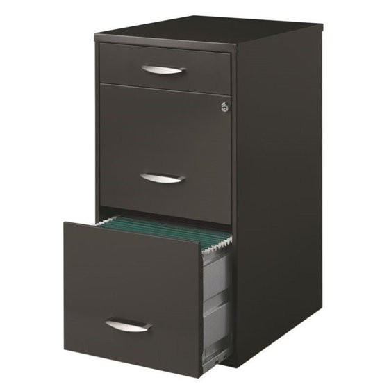 Best ideas about Walmart Filing Cabinet . Save or Pin Hirsh SOHO 3 Drawer File Cabinet in Charcoal Walmart Now.