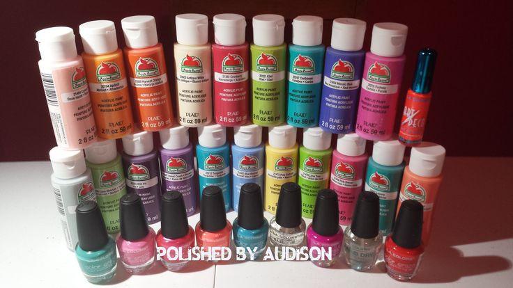 Best ideas about Walmart Paint Colors . Save or Pin Polished By Audison Walmart Haul [LA Colors & Acrylic Now.