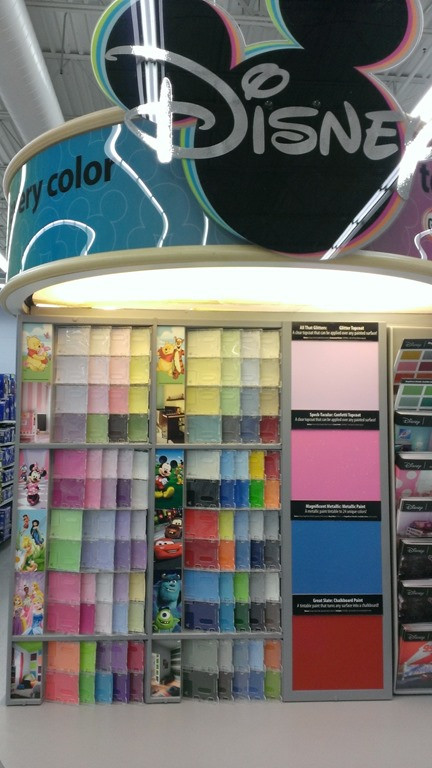 Best ideas about Walmart Paint Colors . Save or Pin Shopping Disney Paint For Zoe's Princess Room with Glidden Now.