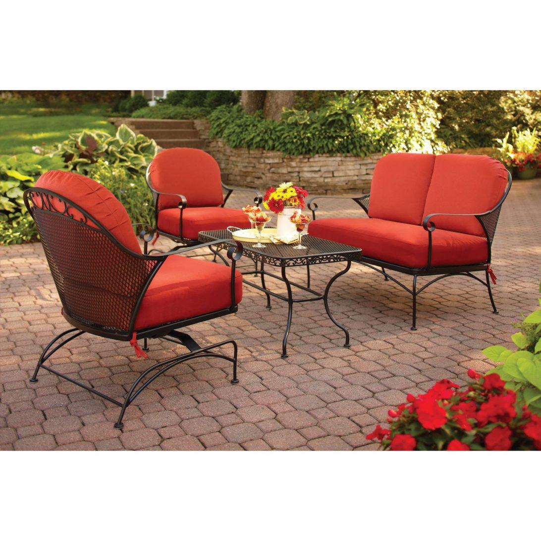 Best ideas about Walmart Patio Cushions Clearance . Save or Pin Conversation Set Patio Furniture Walmart Setoutdoor Now.