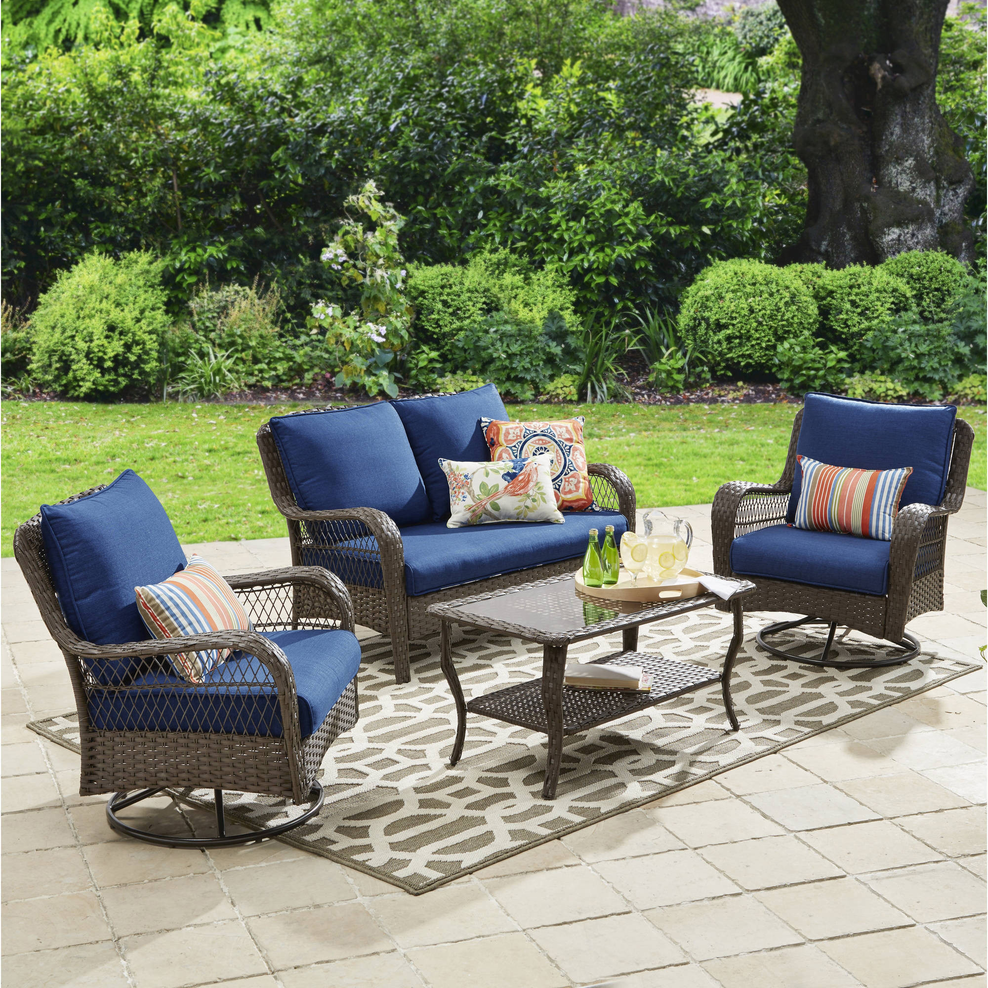 Best ideas about Walmart Patio Furniture . Save or Pin Better Homes and Gardens Patio Furniture Walmart Now.