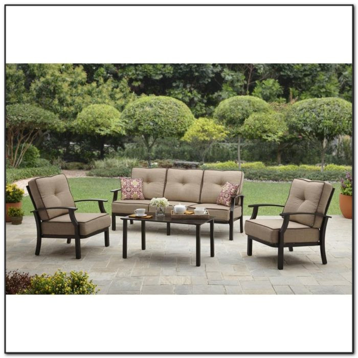 Best ideas about Walmart Patio Furniture . Save or Pin Patio Tables Walmart Canada Patios Home Decorating Now.