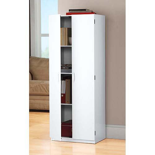Best ideas about Walmart Storage Cabinet . Save or Pin Mainstays Storage Cabinet White Walmart Now.