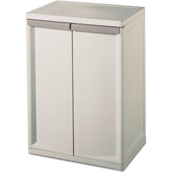 Best ideas about Walmart Storage Cabinet . Save or Pin Sterilite 2 Shelf Storage Cabinet Walmart Now.