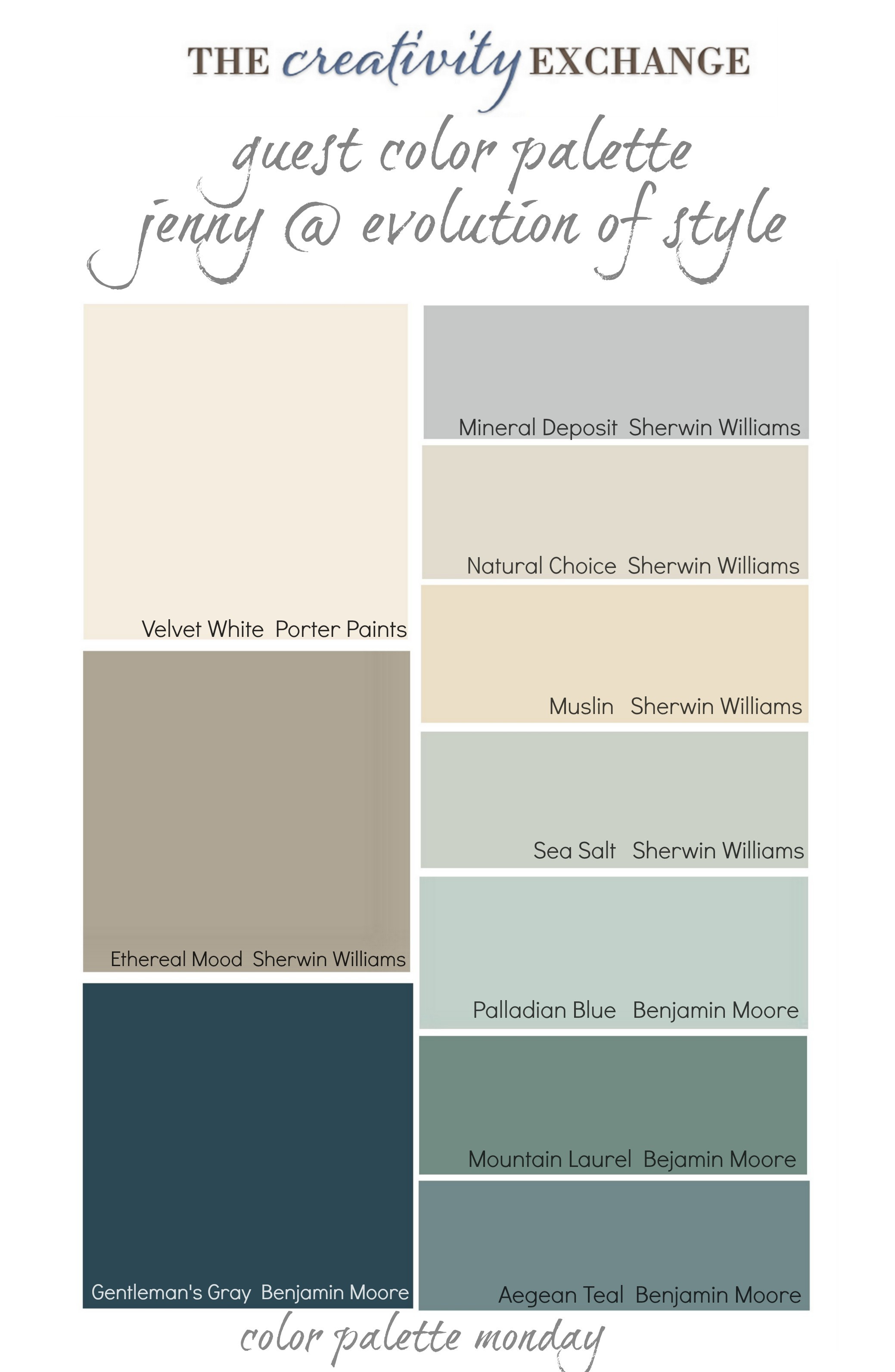 Best ideas about Warm Paint Colors . Save or Pin Readers Favorite Paint Colors Color Palette Monday Now.