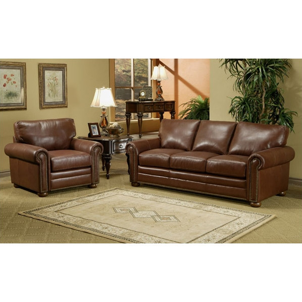 Best ideas about Wayfair Living Room Furniture . Save or Pin Omnia Leather Savannah Leather 3 Seat Sofa Living Room Set Now.
