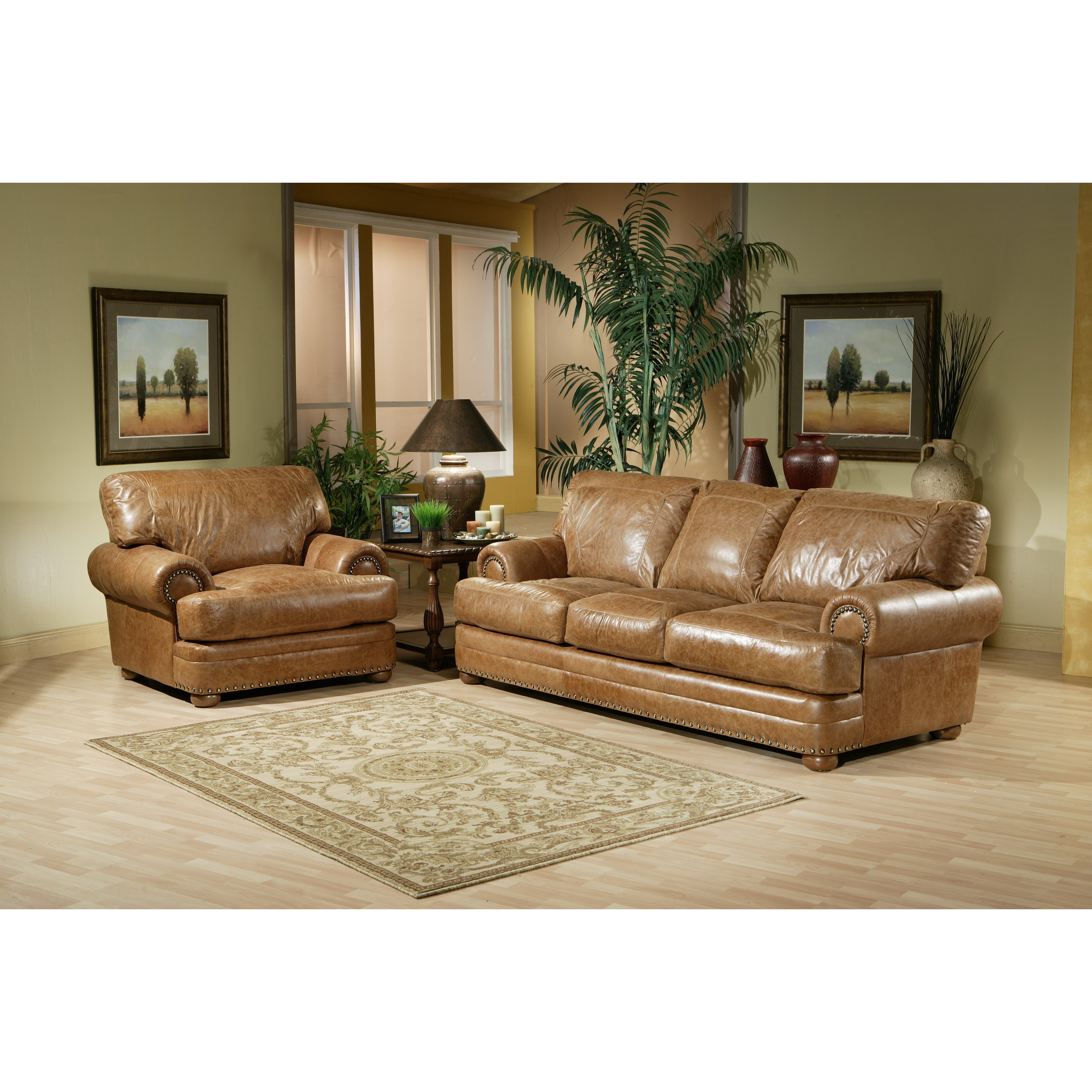 Best ideas about Wayfair Living Room Furniture . Save or Pin Omnia Leather Houston Leather Living Room Set & Reviews Now.