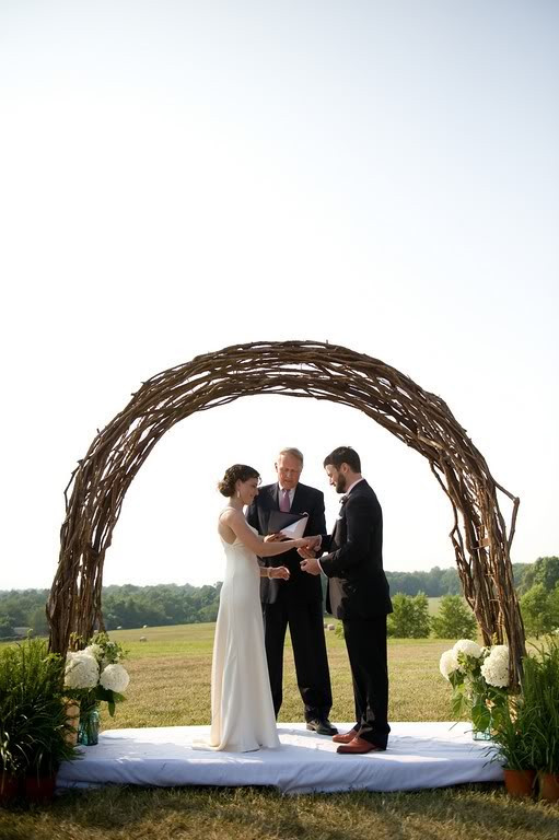 Best ideas about Wedding Arch DIY . Save or Pin May 2012 – Your Perfect Day s Wedding Chat Now.