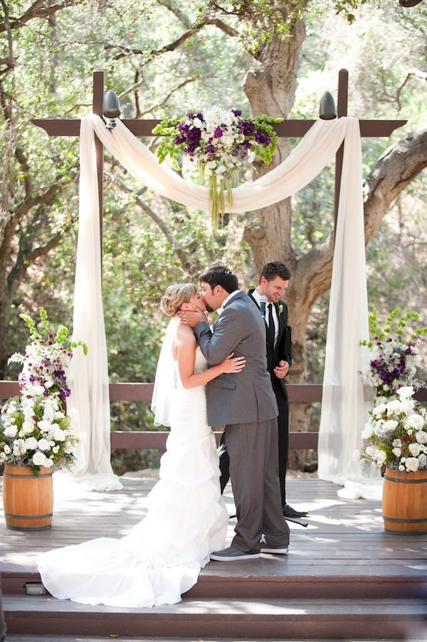 Best ideas about Wedding Arch DIY . Save or Pin 25 Chic and Easy Rustic Wedding Arch Ideas for DIY Brides Now.