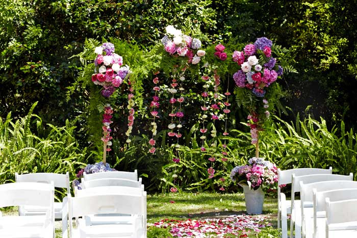 Best ideas about Wedding Arches DIY . Save or Pin Wedding DIY Build a Floral Wedding Arch Modern Wedding Now.