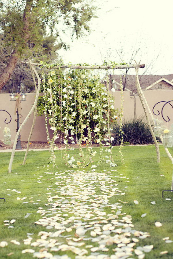 Best ideas about Wedding Arches DIY . Save or Pin 20 Cool Wedding Arch Ideas Hative Now.