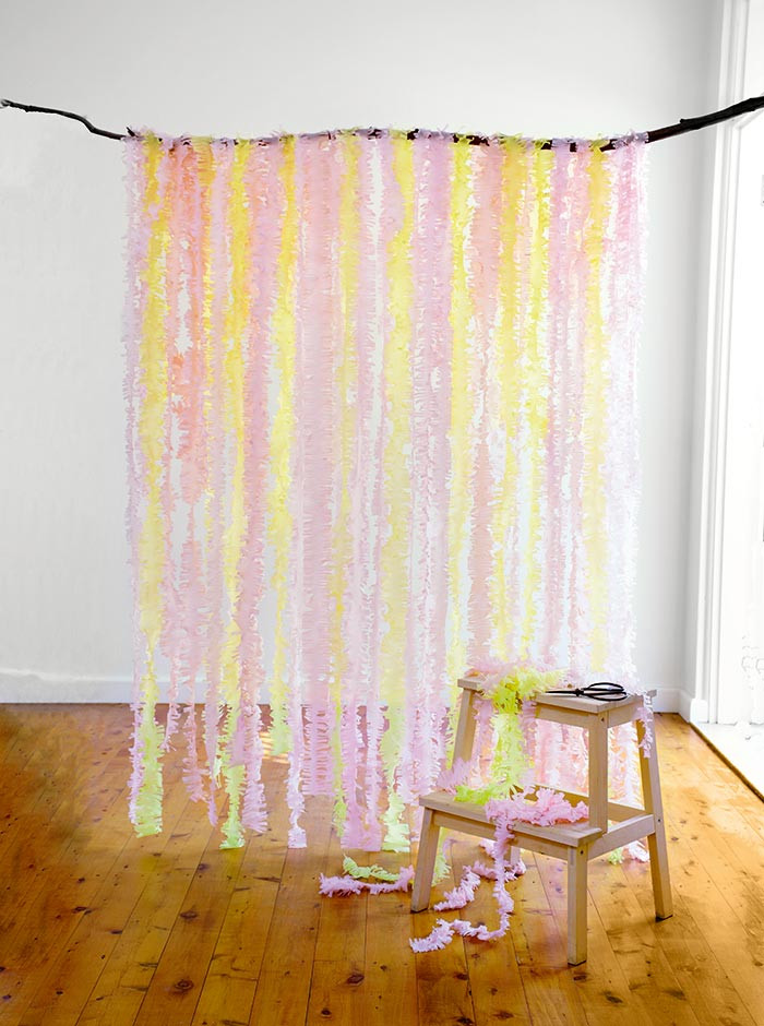 Best ideas about Wedding Backdrop DIY . Save or Pin DIY Wedding Streamer Backdrop Modern Wedding Now.