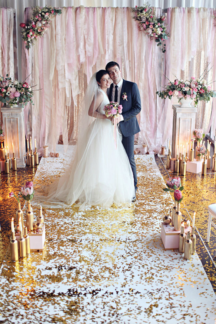 Best ideas about Wedding Backdrop DIY . Save or Pin 5 DIY wedding ceremony backdrop ideas that wow — Wedpics Blog Now.