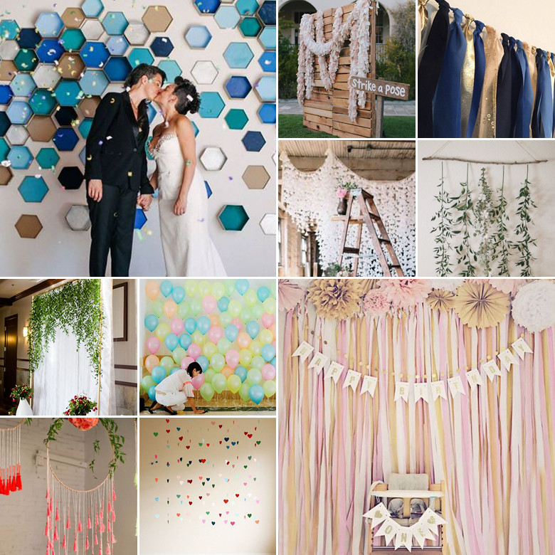 Best ideas about Wedding Backdrop DIY . Save or Pin DIY Wedding Backdrops Now.