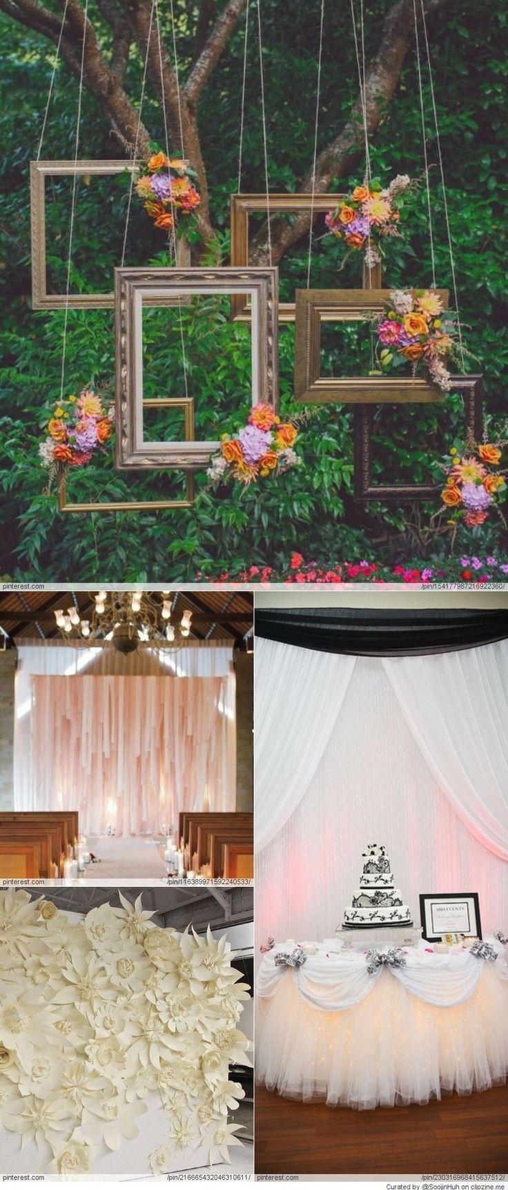Best ideas about Wedding Backdrop Ideas DIY . Save or Pin Wedding Backdrop DIY Ideas photography Now.