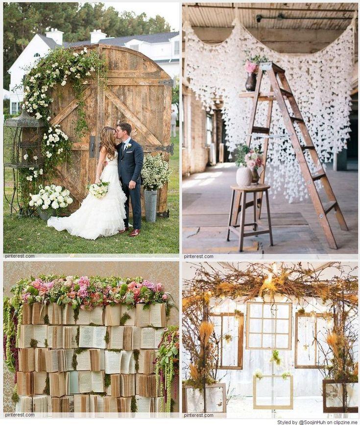 Best ideas about Wedding Backdrop Ideas DIY . Save or Pin Wedding Backdrop DIY Ideas CLIPZINE Now.