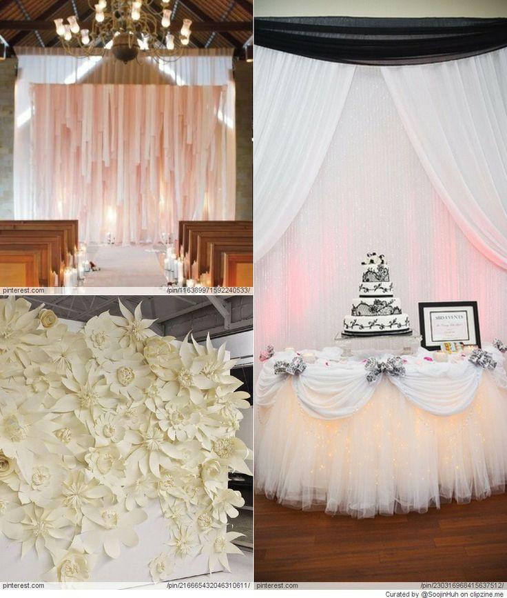 Best ideas about Wedding Backdrop Ideas DIY . Save or Pin Wedding Backdrop DIY Ideas Everything Wedding Now.