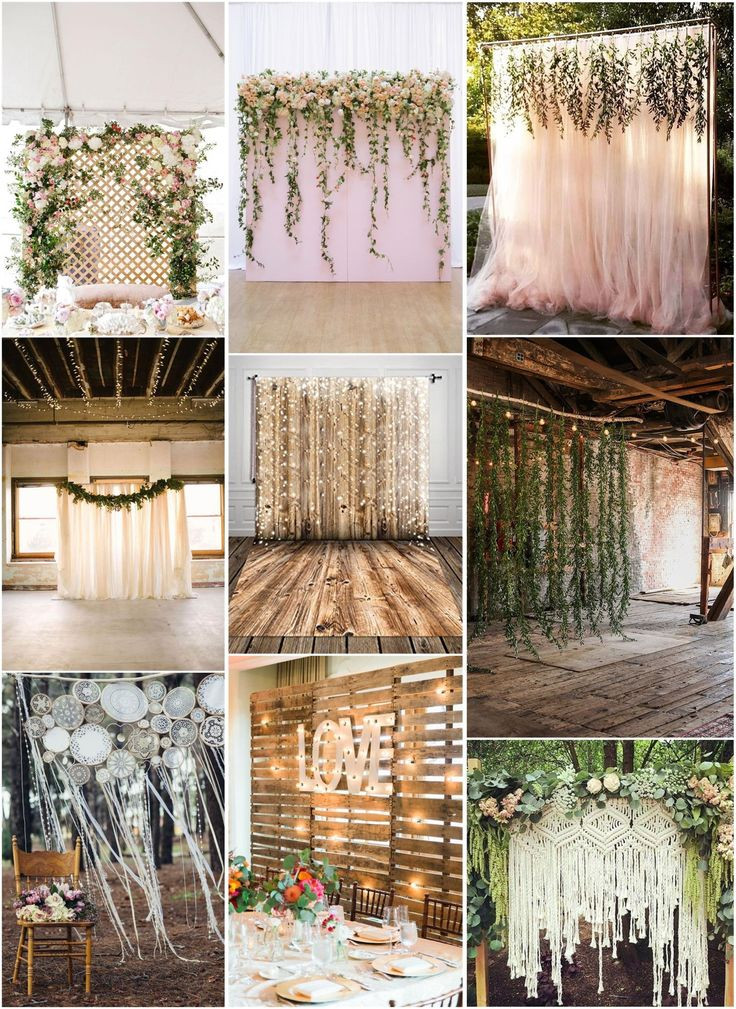 Best ideas about Wedding Backdrop Ideas DIY . Save or Pin 30 Unique and Breathtaking Wedding Backdrop Ideas Now.