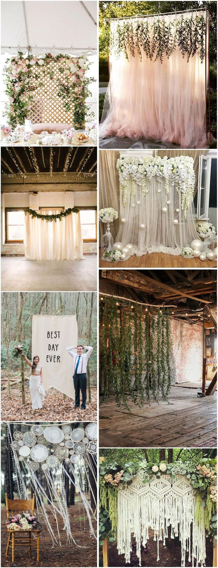 Best ideas about Wedding Backdrop Ideas DIY . Save or Pin 25 best ideas about Wedding backdrops on Pinterest Now.