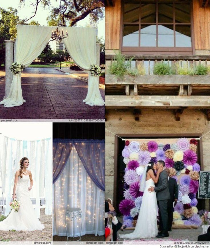 Best ideas about Wedding Backdrop Ideas DIY . Save or Pin Wedding Backdrop DIY Ideas Weddings the D day Now.