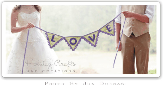 Best ideas about Wedding Banners DIY . Save or Pin DIY Wedding Decorations Easy To Sew Banner Now.