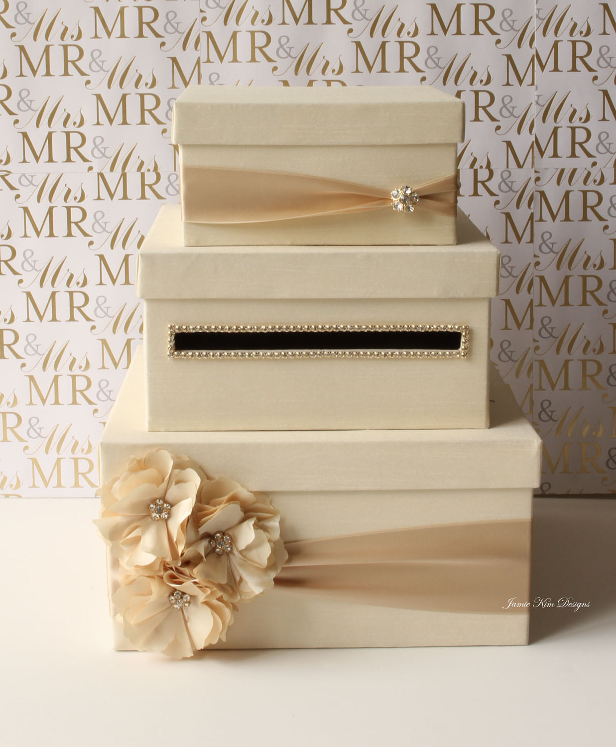 Best ideas about Wedding Card Boxes DIY . Save or Pin Wedding Card Box Money Box Gift Card Holder choose your Now.